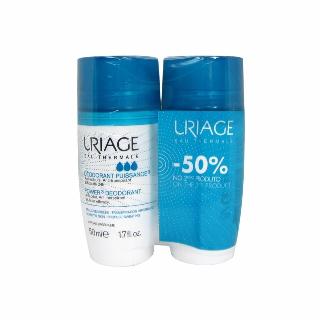 Uriage Deo Forte Roll On 50mlx2 -50%