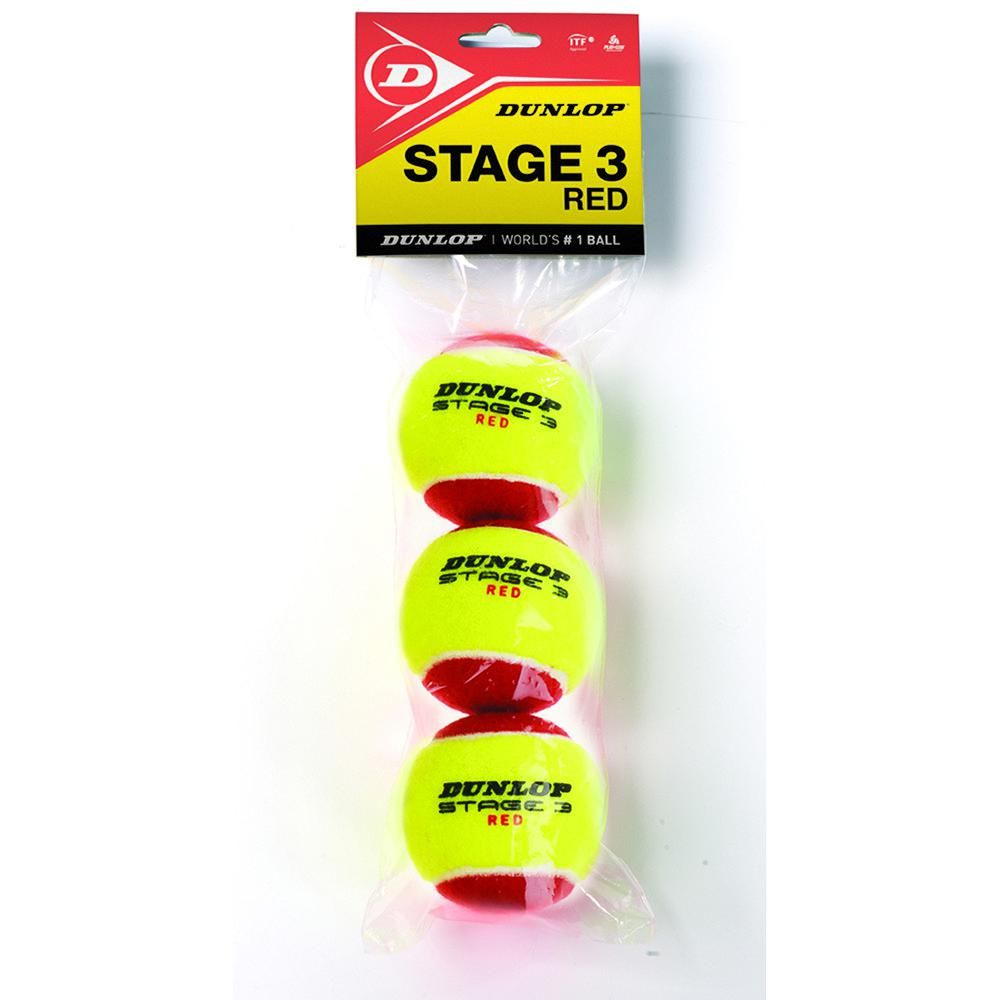 Dunlop Stage 3 Polybag 12 Bolas