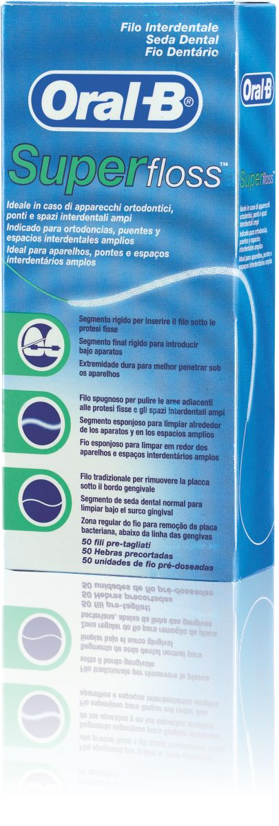 Oral B Super Floss X 50