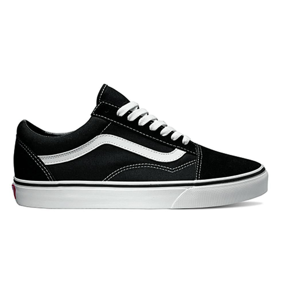 Ténis Vans Ua Old Skool Black/White