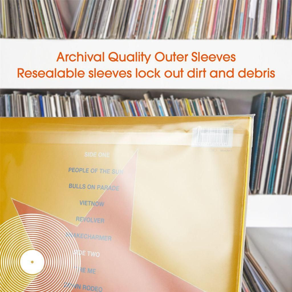 Record Outer Sleeve Density 400Gr 100x