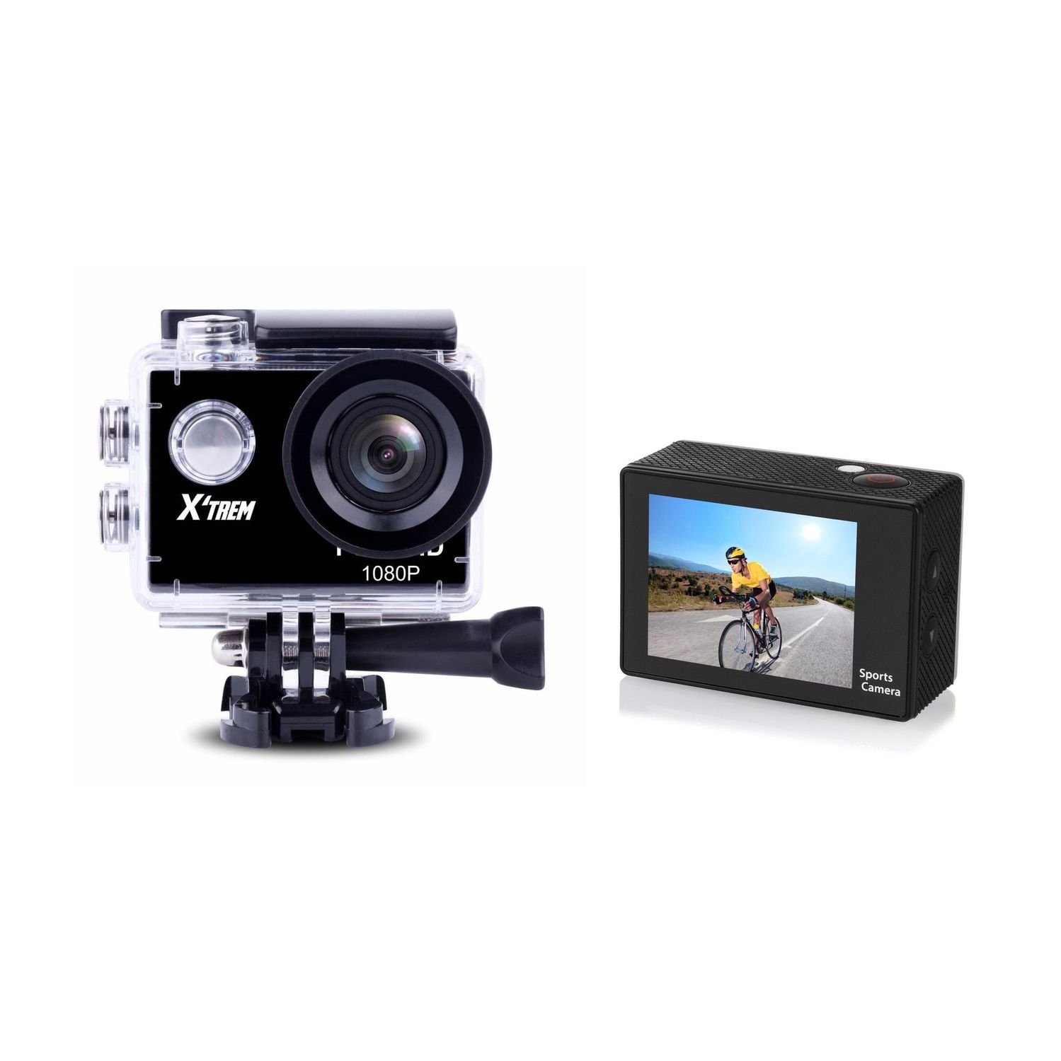 "Action Camera STOREX X-TREM CHD5003-S+ 2""LTPS 2xLCD/FULL HD1080P/5MP Angulo 160º - CS45048"