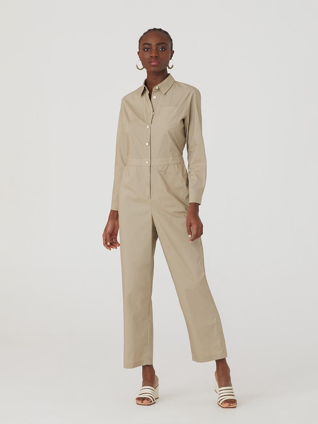 Work Dungarees In Cotton