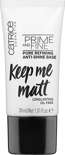 Catrice Prime And Fine Pore Refining And Anti-Shine Base Base de Maquilhagem 30 Ml