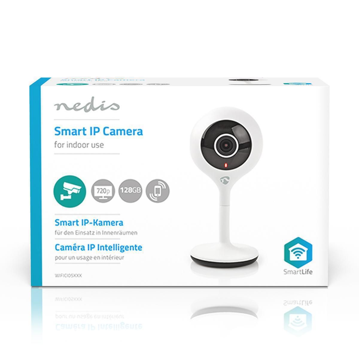 Camâra Wi-Fi Smart Ip  HD 720P