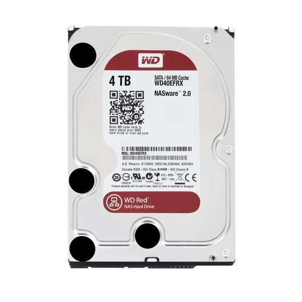 "Disco Duro Western Digital Red Wd30Efrx 3.5"" 3 Tb Sata Iii 7200 Rpm Buffer 64 Mb"