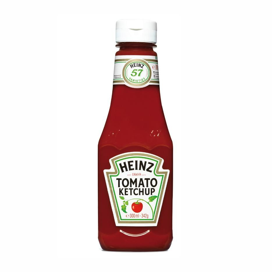 Heinz Ketchup Squeezable 342 G
