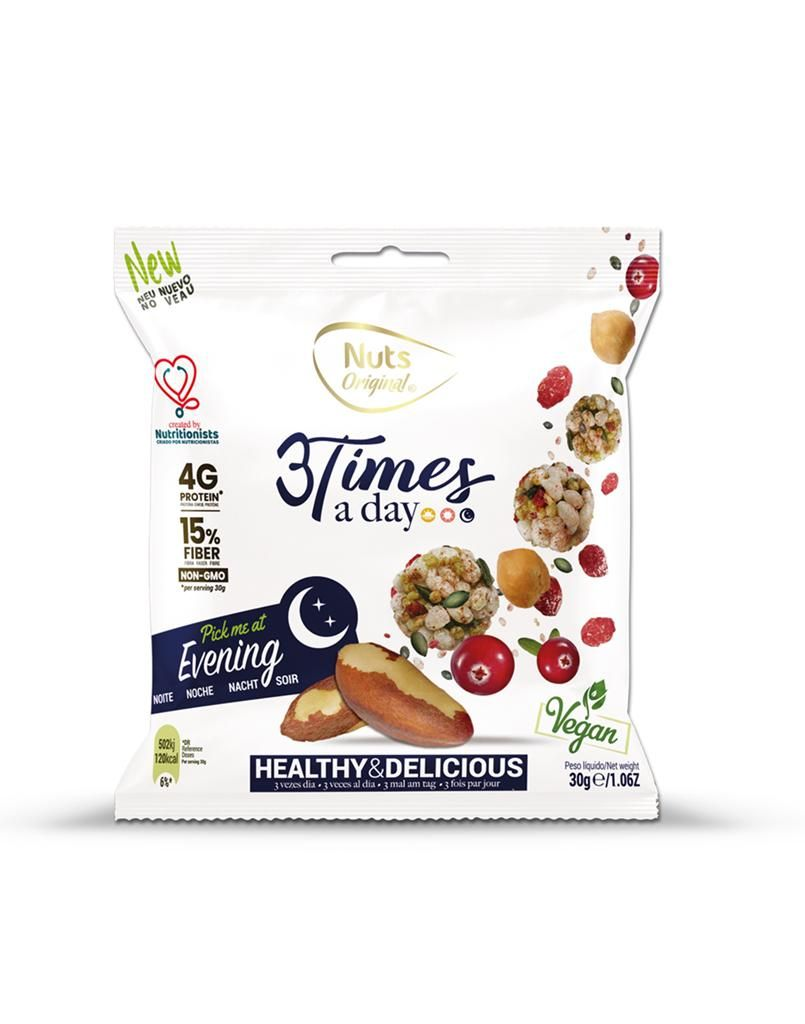 Snack Nuts Original 3 Times a Day Noite