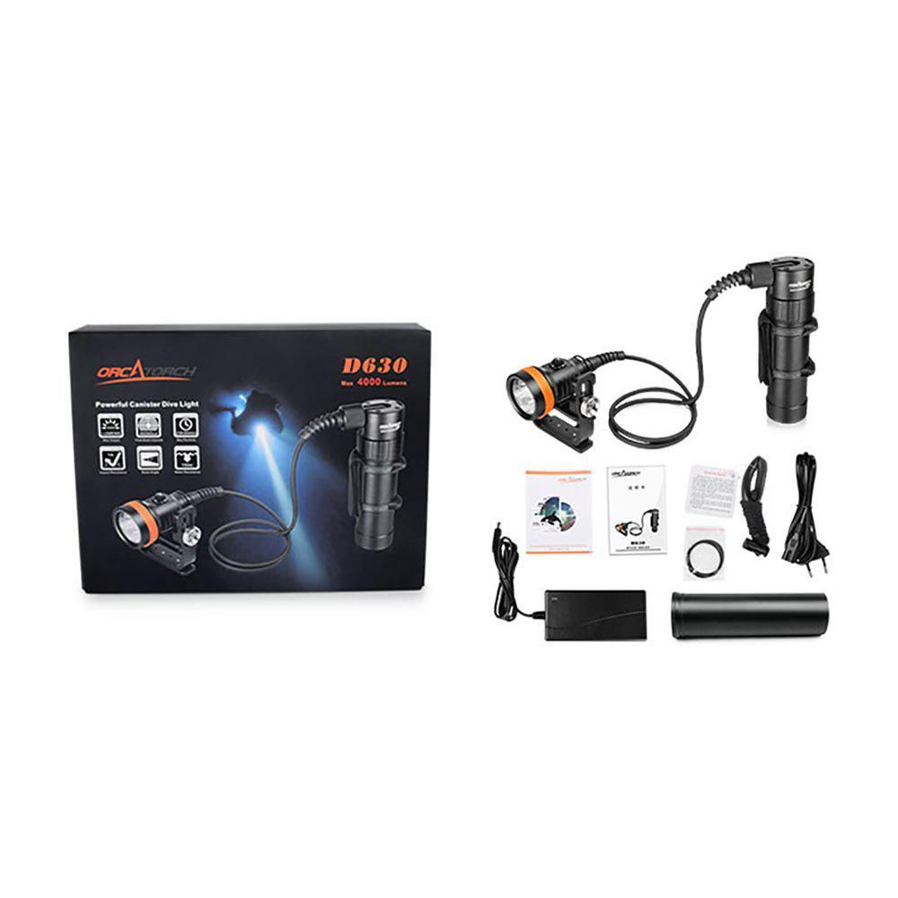 Orcatorch Diving Led Pack