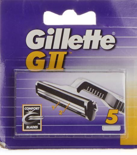 Gillette Spare parts for G II 5 Units
