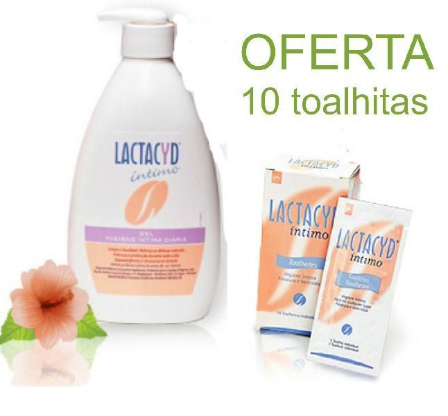 Lactacyd Intimo Prom Emuls 400+Toalhx10