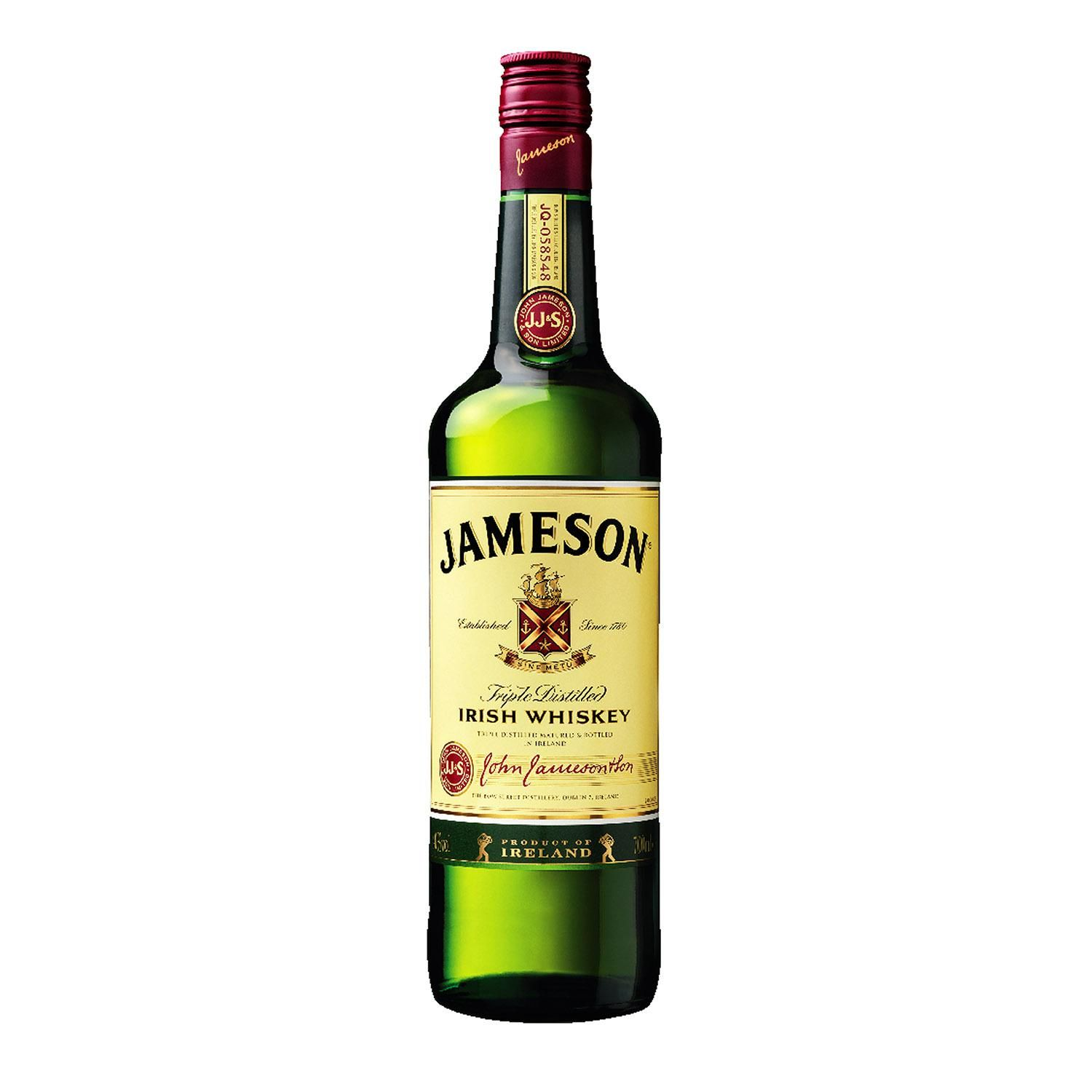 Jameson Whisky Irlandês 70 cl