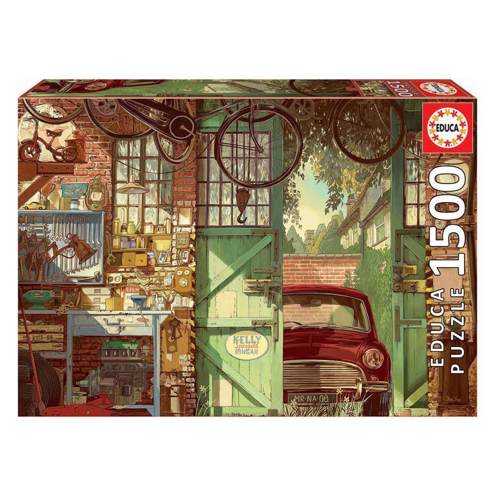 Puzzle 1500 Old Garage, Arly Jones