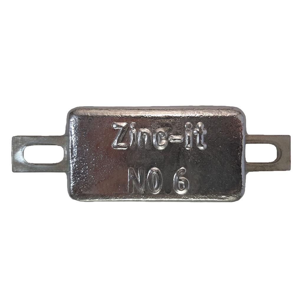 Zinc-It Hull Anode N0.6 Ânodo 0,6 Kg
