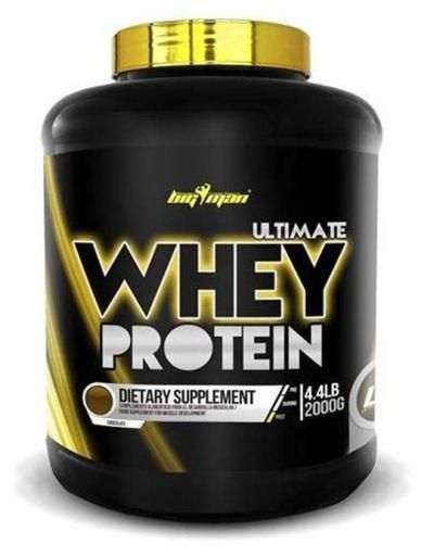 Big Man Nutrition Ultimate Whey Protein 2000 Mg Biscoitos