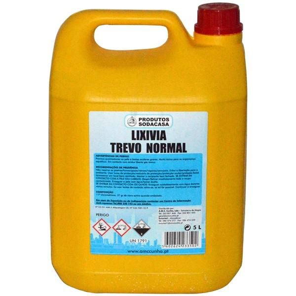 Lixivia Trevo Normal Gfao 5 Lt