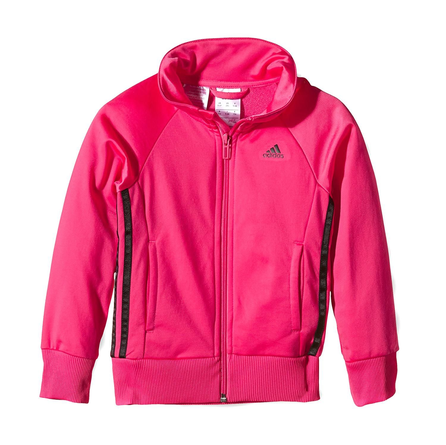 9ac74639b39 Adidas® Casaco Fitness and Training Rosa - Dott — o maior shopping ...