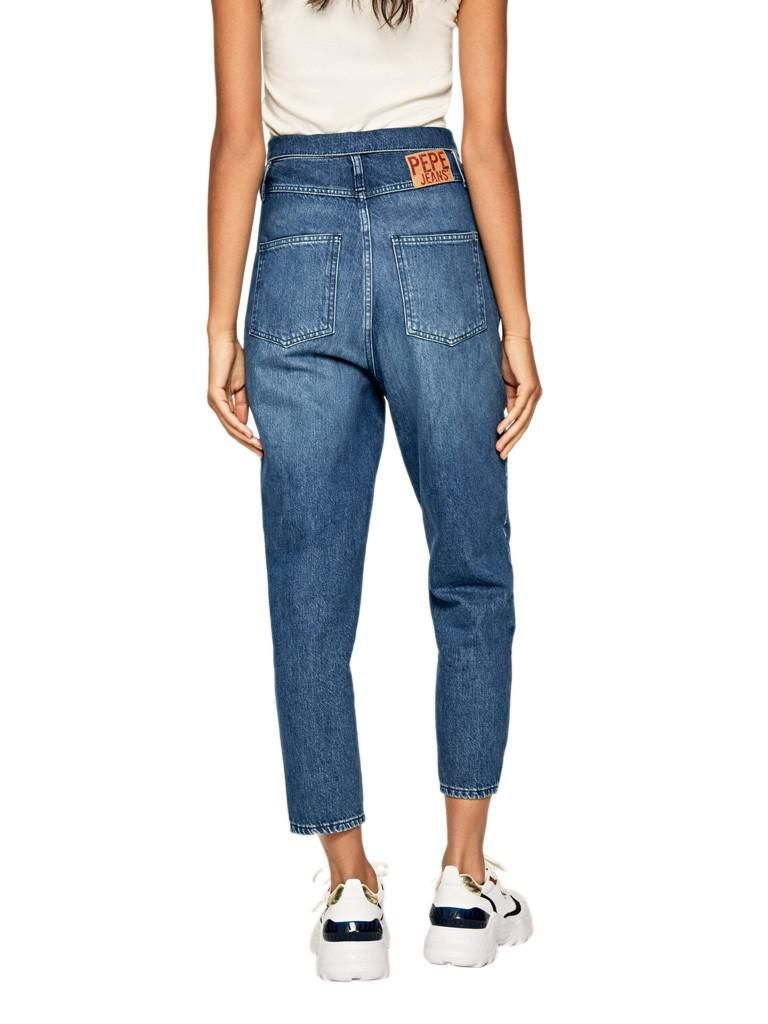 Jeans Mulher Wynne Pepe Jeans Jeans Escuro