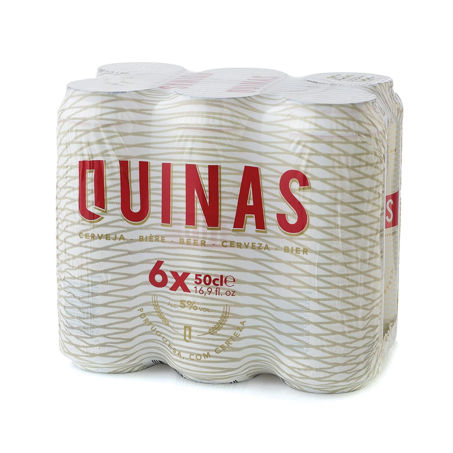 Quinas Pack Lata 6x50 cl