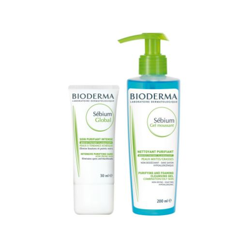 Sebium Bioderma Global+Gel Mouss
