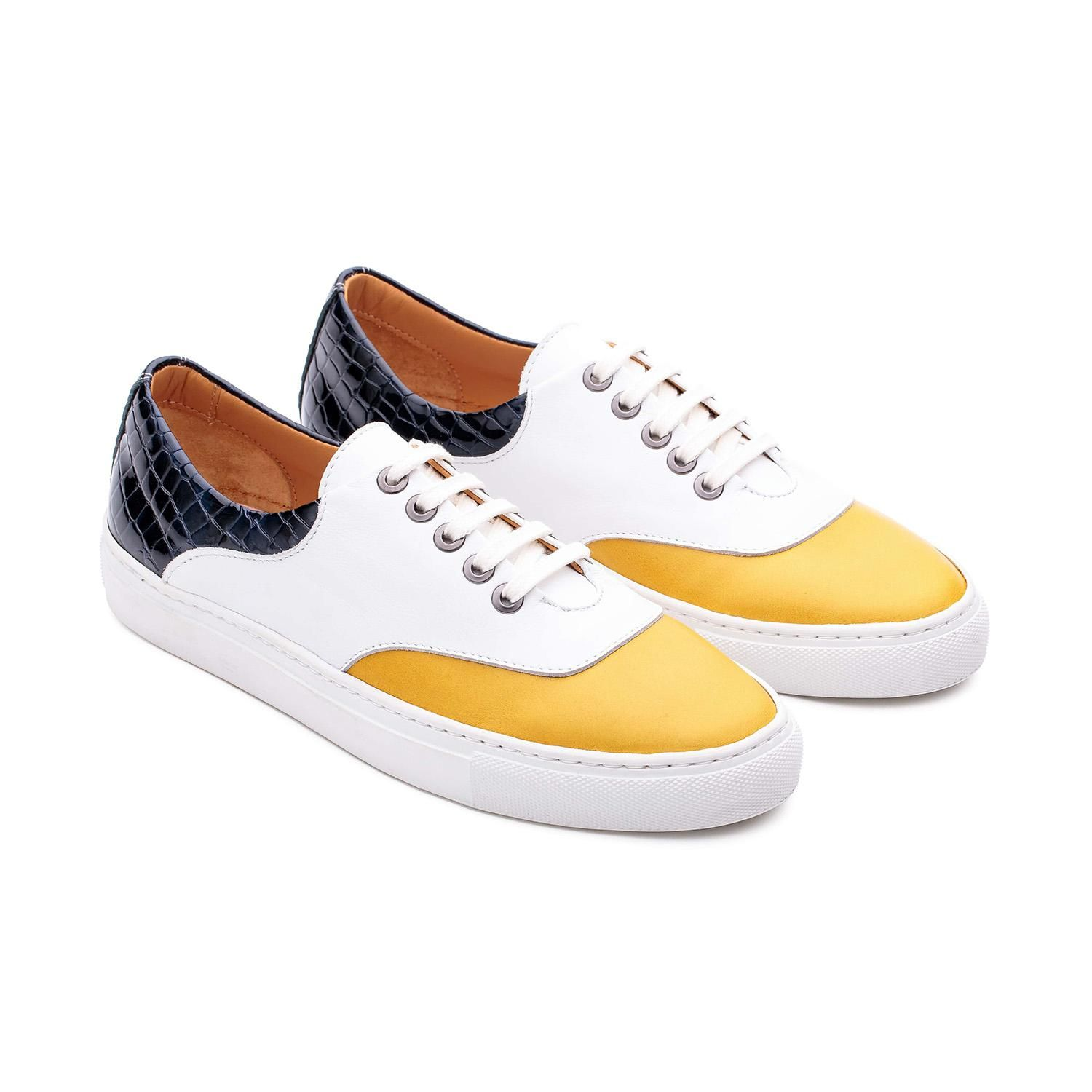 Sapatos Saddle Sneakers Makemake.