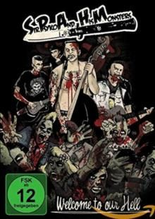 Sir Psyko & His Monsters  Welcome To Our Hell (+Dvd)  Cd