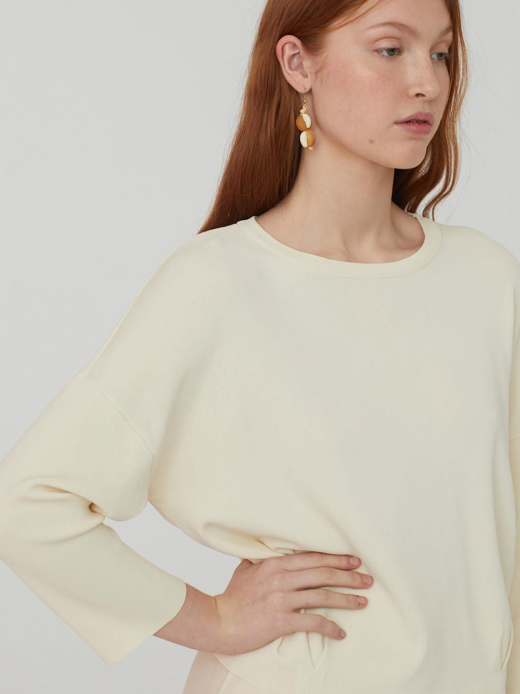 Oversized Jumper With Pegs