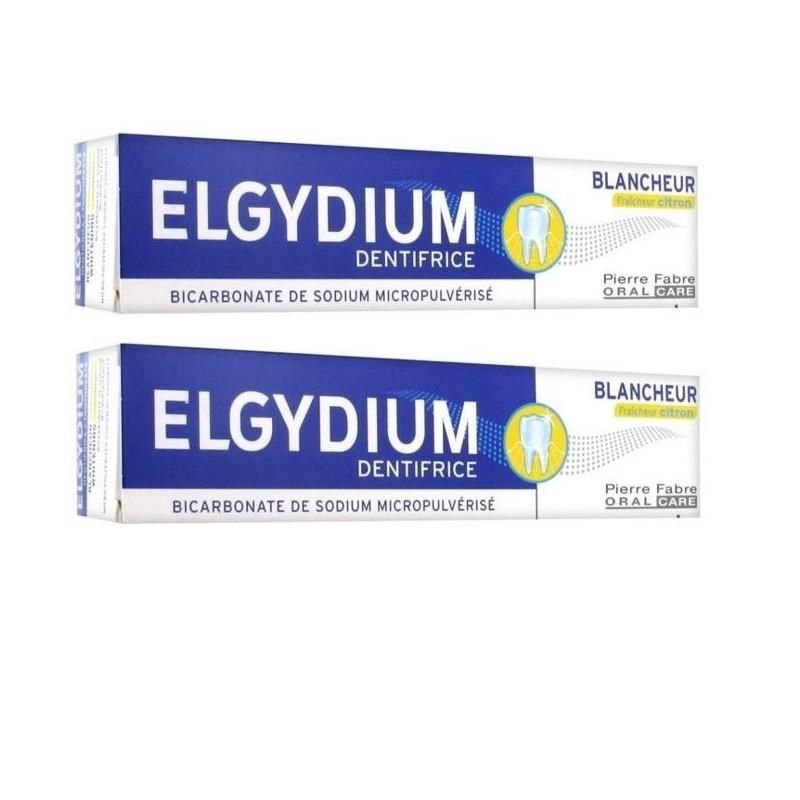 Elgydium Dentífrico Branqueamento Cool Lemon 2x75ml